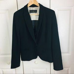 Zara Black Long Sleeve Casual Blazer size XL